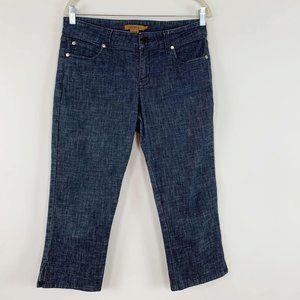 Arden B Cropped Jeans Size 10 Capri Dark Wash EUC